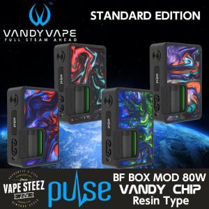電子タバコ VANDYVAPE PULSE 80W MOD スタンダードエディション(RESIN TYPE )30ml リフィルボトルなし vapesteez