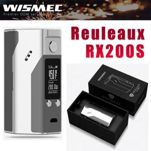 WISMEC Reuleaux RX200 MOD シルバー[VAPESTEEZオリジナルリキッドつき] 電子タバコ ルーロー VAPE サブオーム対応 温度管理機能付き