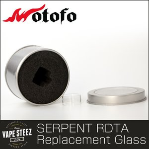 WOTOFO SERPENT RDTA専用 交換ガラス Replacement Glass|vapesteez