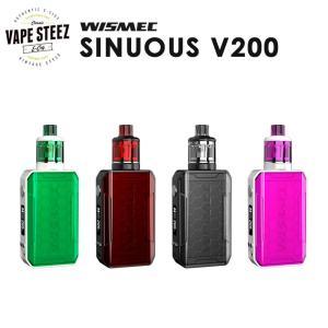 電子タバコ スターターキット 【 VTC4バッテリー2本付き 】WISMEC SINUOUS V200|vapesteez