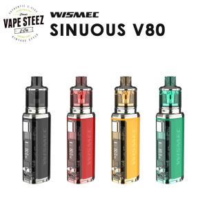電子タバコ スターターキット 【 VTC4バッテリー1本付き 】WISMEC SINUOUS V80|vapesteez