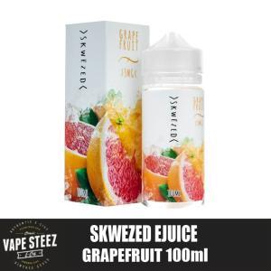 電子タバコ リキッド SKWEZED - Grape Fruits 100ml (グレープフルーツ) フルーツ系リキッド ニコチン 0mg MADE IN USA|vapesteez