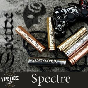 電子タバコ Authentic 正規品 SPECTRE メカニカルMOD Team Phantom 24mm VAPE vapesteez