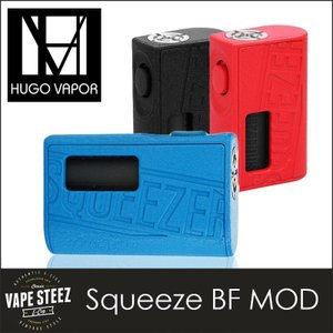 Hugo Vapor Squeezer BF MOD ロック機能付き メカニカルBOX MOD 18650/20700バッテリー換装可能|vapesteez
