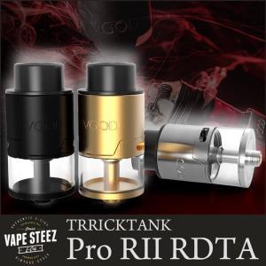 正規品 VGOD TRICKTANK R2 RDTA 24mm ドリッパー 爆煙 VAPEトリック スモークトリック 上級者向け|vapesteez