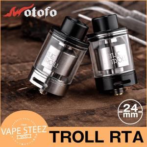 電子タバコ VAPE Troll RTA 24mm Wotofo アトマイザー リビルダブル タンク アトマイザー|vapesteez