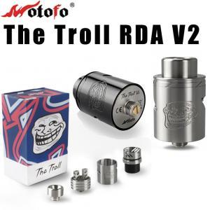 電子タバコ VAPE Wotofo The Troll RDA V2 ベロシティデッキ搭載モデル アトマイザー|vapesteez
