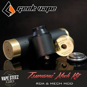 正規品 Geekvape TSUNAMI (25mm) Mech Kit メカニカルMOD 上級者向け トリッカー|vapesteez