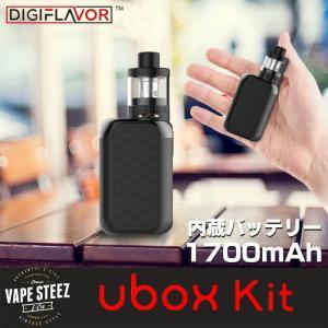 電子タバコ スターターキット UBOX 最大出力28W 内蔵バッテリー1700mAh BOX MOD UTANK vapesteez