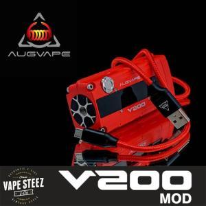 電子タバコ BOX MOD 正規 AUGVAPE V200 テクニカルMOD 最大出力200W V MODE搭載|vapesteez