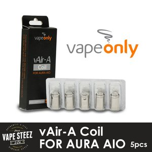 vapeonly社製 coil Aura AIO  交換専用 アトマイザー用スペアコイル 5個入り|vapesteez