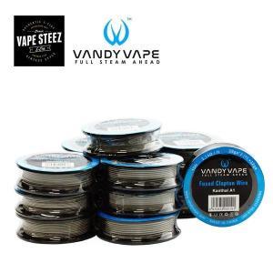 電子タバコ コイル VANDYVAPE製 交換コイル 10ft , 3.048メートル|vapesteez