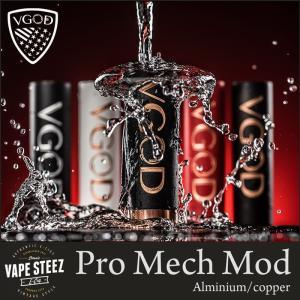 正規品 VGOD Pro MECH MOD 24mm メカニカルMOD 18650バッテリー スモークトリック VAPEトリック|vapesteez