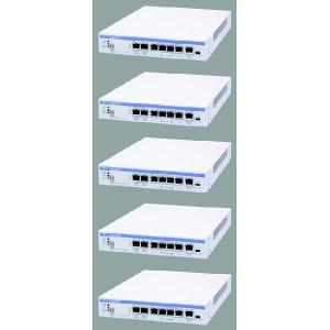 (中古)NEC 高機能・高性能アクセスルータ IX2015 5台セット 本体、ACケーブルのみ __|vaps