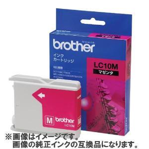 [互換インク]brother インクカートリッジ LC10M 互換インク マゼンタ[メール便発送、送料無料、代引不可]|vaps