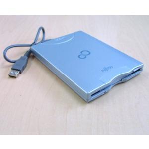 (中古品)富士通/Fujitsu USB外付けFDD フロッピーディスクドライブ CP078730-05 __|vaps