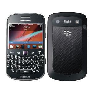 (中古品)docomo/ドコモ BlackBerry Bold 9900 Charcoal Black(白ロム) __|vaps