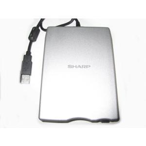 (中古品)SHARP/シャープ USB接続FDドライブユニット 外付けFDD CE-FD05 __|vaps