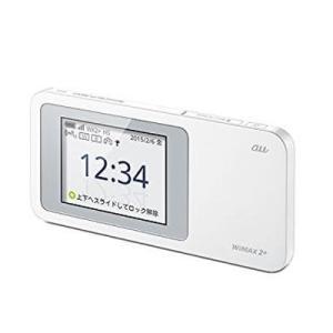 (中古)au版 Speed Wi-Fi NEXT W01 HWD31SWA ホワイト _.|vaps