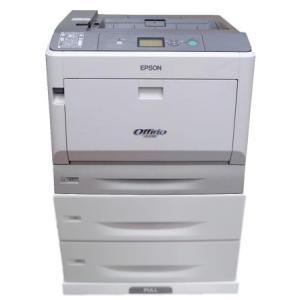 (中古品)エプソン レーザープリンター LP-S7100 本体+増設カセット(LPA3CZ1C10)×2台 __|vaps