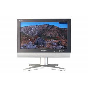 (中古)シャープ 16型 ハイビジョン 液晶 テレビ AQUOS LC-16E5-B 本体+電源ケーブル+B-CAS __|vaps