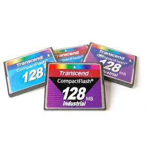 (中古品)CFカード トランセンド 128MB 《1枚 型番不問》 コンパクトフラッシュ TRANSCEND _|vaps