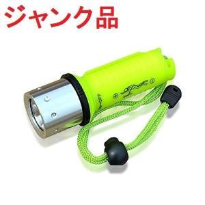 (ジャンク・ライト部分が閉まらない)完全防水 Twink Light LED水中ライト ダイビングライト 防災 懐中電灯 _|vaps