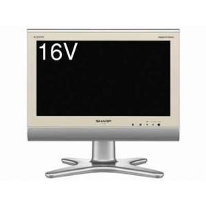 (中古)シャープ 16V型 液晶テレビ AQUOS LC-16E5 本体+電源+B-CAS+リモコン __|vaps