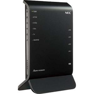 (美品 中古)NEC 11ac対応 1300+600Mbps 無線LANルータ(親機単体)Aterm PA-WG1900HP2(本体+スタンド+ACアダプタ) __|vaps