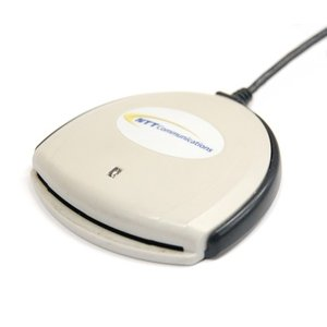 (中古品)NTT communications ICカードリーダライタ(USBバスパワー) SCR-3310 _