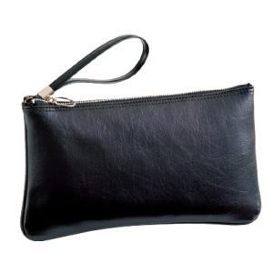G-GUSTO(Gガスト) クラッチバッグ 日本製 合皮 ビジネス メンズ 27cm No24024-01 黒  ___ ___|vaps