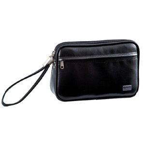 G-GUSTO(Gガスト) クラッチバッグ 日本製 合皮 ビジネス メンズ 21cm No25628-01 黒  ___ ___|vaps