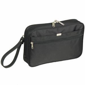 GUSTO(ガスト) 日本製 豊岡製鞄 セカンドバッグ セカンドポーチ メンズ A5 25cm No25668-01 クロ  ___|vaps