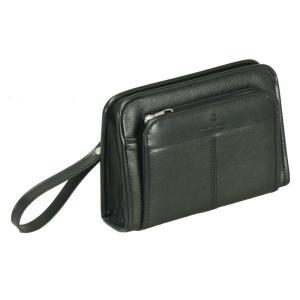 PHILIPE LANGLET(フィリップラングレー) 日本製 豊岡製鞄 セカンドポーチ セカンドバッグ メンズ 22cm No25685-01 クロ  ___ vaps