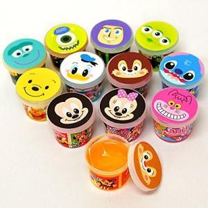 ディズニースライム粘土 36入 縁日 お祭り おもちゃ 玩具  __|vaps