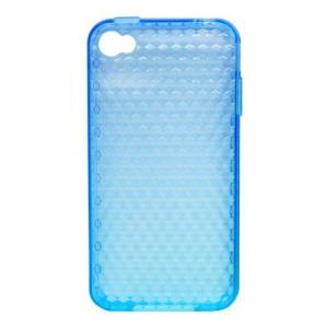 TMY iPhone4/4S用カバー i500シリーズ ソフトタイプ ブルー CV-C06BL _|vaps
