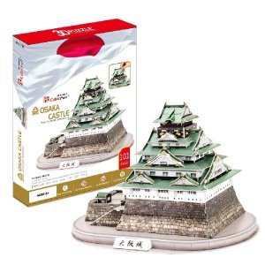 ハートアートコレクション 3D立体パズル 大阪城 MC175h __|vaps