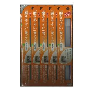 磨きやすい歯ブラシ(奥歯まで)先細 12本入り ハの字植毛 田辺重吉 弾力性 LT-12 カラーランダム _.|vaps