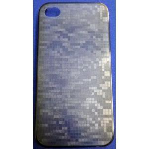 baw&g iPhone 4/4S用 0.35mm薄型ケース&フィルムセット  IP4S-SC10ANZ AINEZ(ブルーグレー) _|vaps