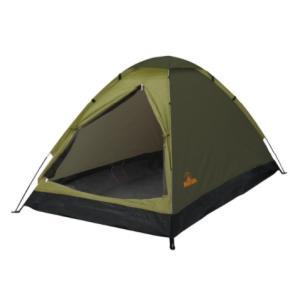 ハック 組立式2人用ドームテント 《グリーン》 HAC2696 __|vaps