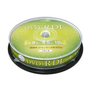LAZOS DVD+RDL 10枚 スピンドルケース入 LA-DL10  _|vaps