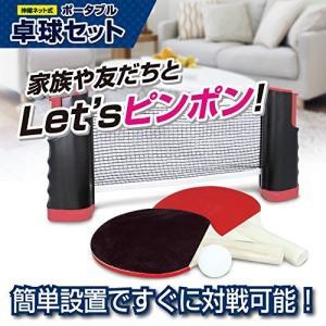 テーブルピンポン ポータブル卓球セット[送料無料(一部地域を除く)] vaps