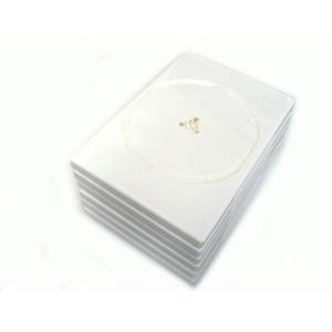 記録メディアをすっきり収納 DVDトールケース(1枚収納) 6個セット __|vaps