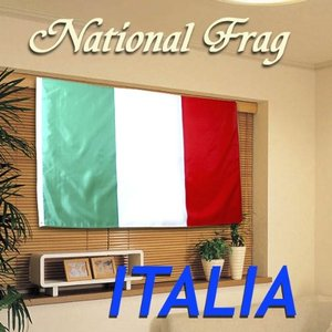 クロスワーク イタリア国旗 150×90cm Repubblica Italiana _.|vaps