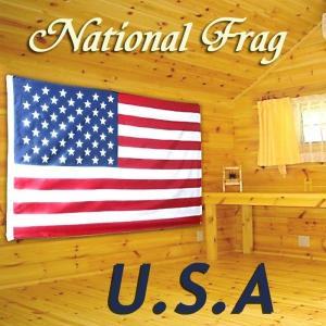クロスワーク アメリカ合衆国国旗 150×90cm USA 星条旗 _.|vaps