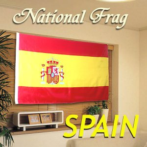 クロスワーク スペイン国旗 150×90cm SPAIN _|vaps