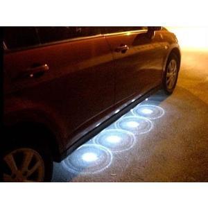 12V車用 ダウンスポットLEDライト 《ホワイト》 《8個セット》 アンダー スポット LED ライト _.|vaps