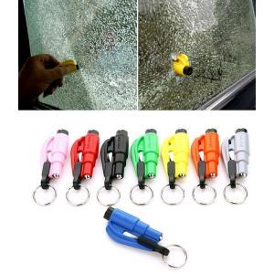 自動車緊急脱出ツール ガラスクラッシャー シートベルトカッター 防災 _|vaps