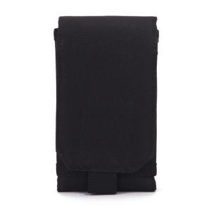 PALS MOLLE スマートフォン ベルトポーチ 《ブラック》 《Sサイズ》 iPhone5対応 _|vaps