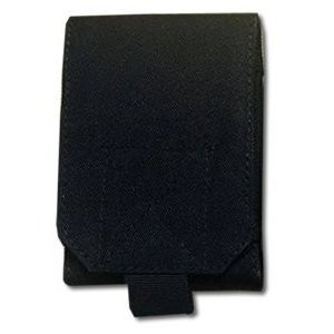 PALS MOLLE スマートフォン ベルトポーチ 《ブラック》 《Mサイズ》 iPhone6対応 _|vaps